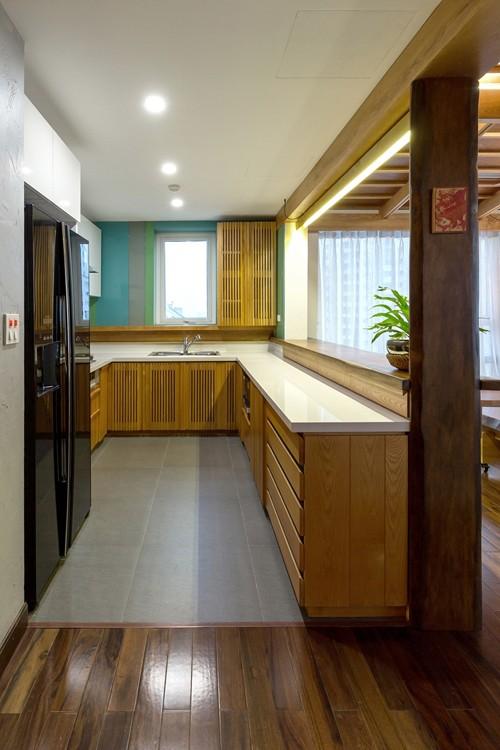 Căn chung cư tầng 26 ở Hà Nội giống... nhà vườn kiểu Nhật ảnh 10