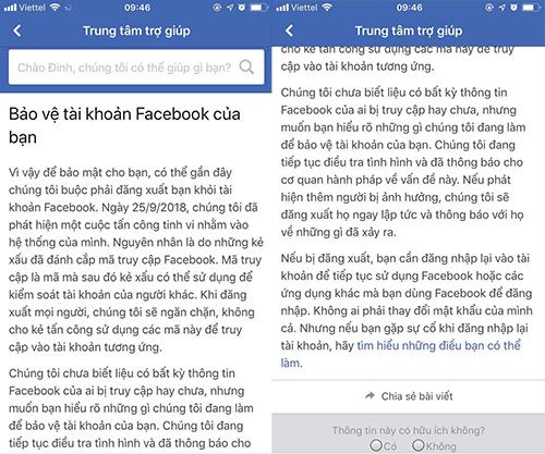 Facebook gửi cảnh báo cho người Việt, thừa nhận bị tấn công ảnh 1