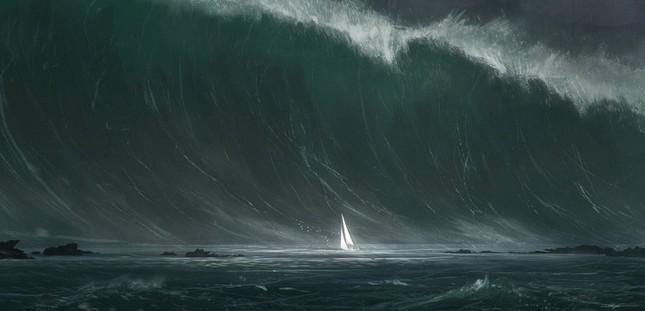 Kinh hoàng những con sóng 'ma' nuốt trọn tàu thuyền ảnh 2