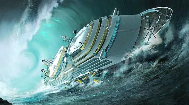 Kinh hoàng những con sóng 'ma' nuốt trọn tàu thuyền ảnh 5