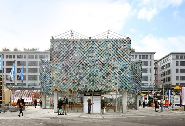 Ngôi nhà bằng vật liệu tái chế từ rác, đẹp và phá cách ít ai ngờ tới ảnh 2