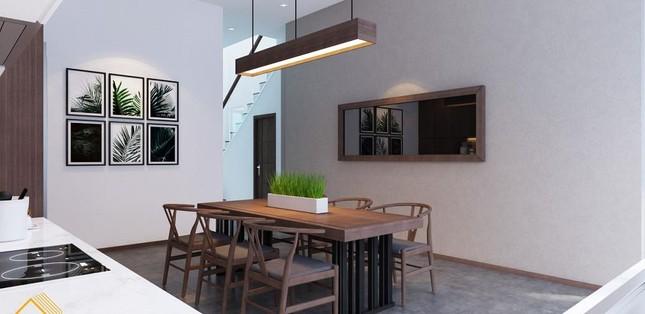 Mẫu nhà phố 3 tầng phong cách hiện đại đẹp miễn chê ảnh 3
