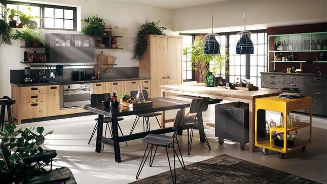 Những mẫu nhà bếp vừa nấu ăn, vừa ngắm cảnh đẹp đến khó tin ảnh 2