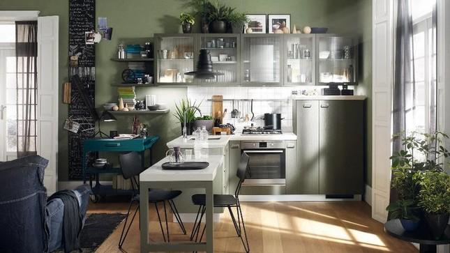 Những mẫu nhà bếp vừa nấu ăn, vừa ngắm cảnh đẹp đến khó tin ảnh 3