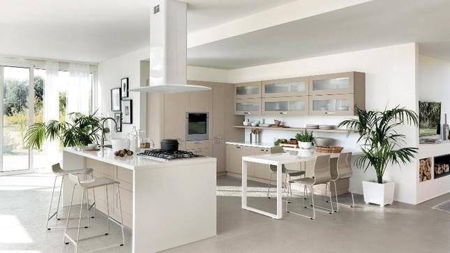 Những mẫu nhà bếp vừa nấu ăn, vừa ngắm cảnh đẹp đến khó tin ảnh 5