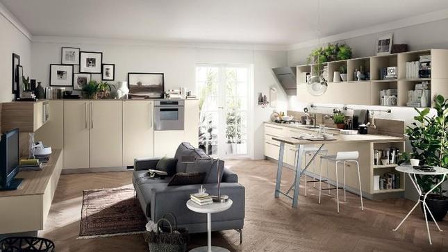 Những mẫu nhà bếp vừa nấu ăn, vừa ngắm cảnh đẹp đến khó tin ảnh 6