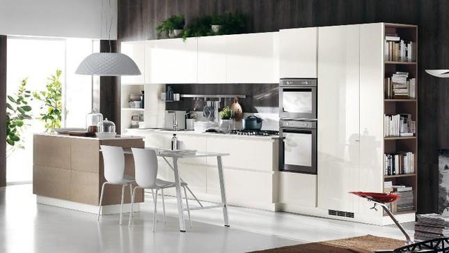 Những mẫu nhà bếp vừa nấu ăn, vừa ngắm cảnh đẹp đến khó tin ảnh 8
