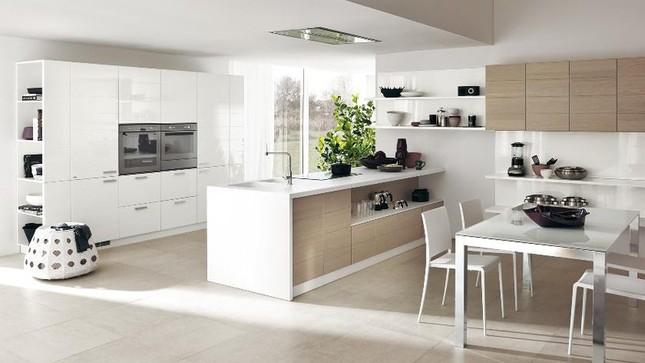 Những mẫu nhà bếp vừa nấu ăn, vừa ngắm cảnh đẹp đến khó tin ảnh 9