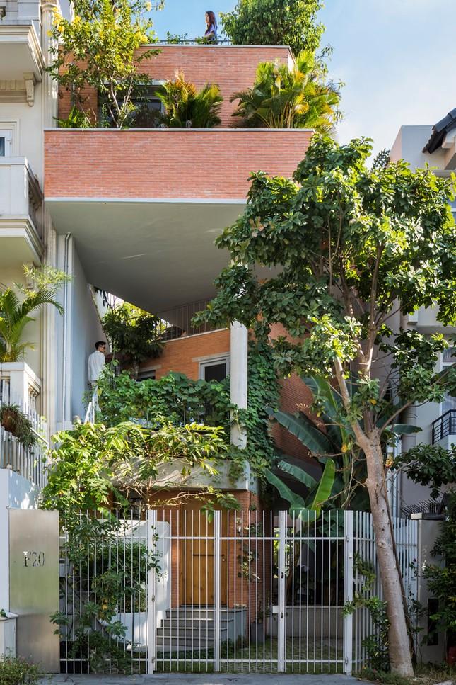 Nhà gạch nung rợp bóng cây xanh lọt đề cử kiến trúc đẹp nhất thế giới ảnh 2