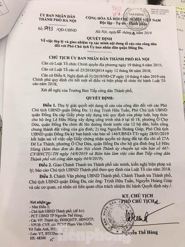 Chủ tịch Hà Nội trực tiếp thụ lý vụ chết 2 năm vẫn xác nhận nhà đất ảnh 1