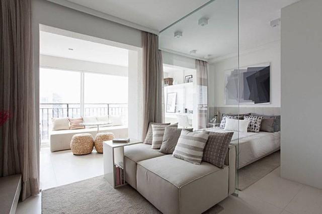 'Tuyệt chiêu' giúp căn hộ 35 m2 sang trọng như rộng gấp đôi ảnh 2