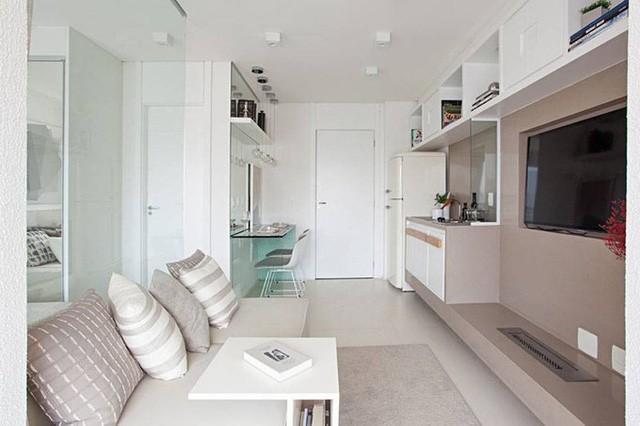 'Tuyệt chiêu' giúp căn hộ 35 m2 sang trọng như rộng gấp đôi ảnh 3