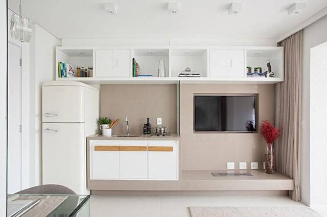 'Tuyệt chiêu' giúp căn hộ 35 m2 sang trọng như rộng gấp đôi ảnh 4