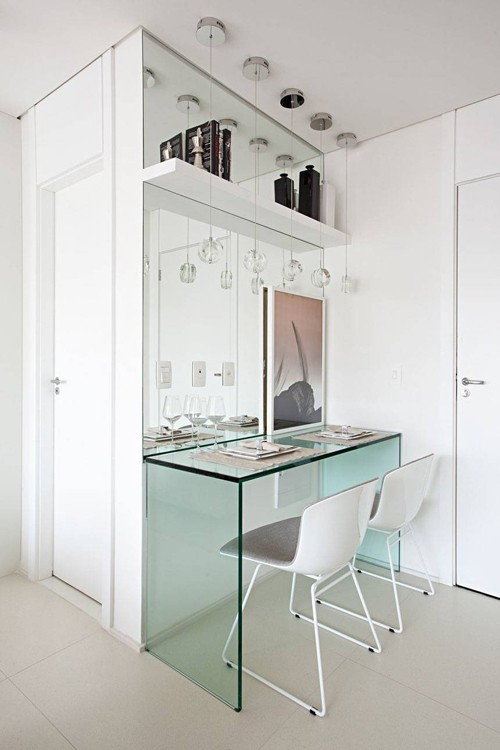 'Tuyệt chiêu' giúp căn hộ 35 m2 sang trọng như rộng gấp đôi ảnh 5