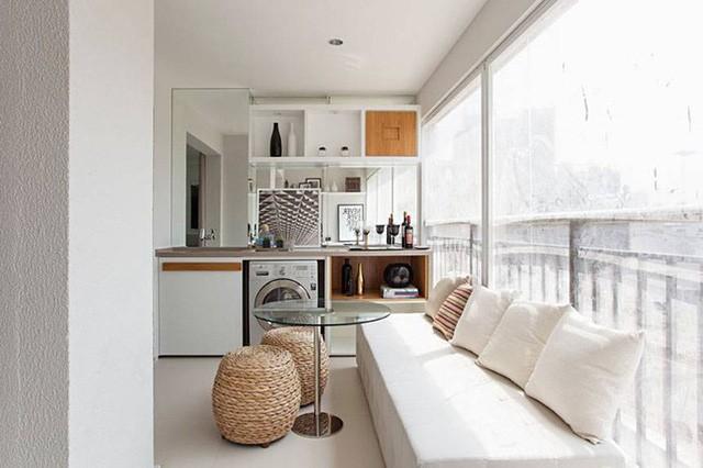 'Tuyệt chiêu' giúp căn hộ 35 m2 sang trọng như rộng gấp đôi ảnh 8
