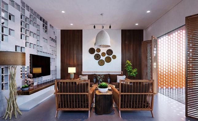 Các kiểu nội thất gỗ mộc vẫn khiến ngôi nhà đẹp nao lòng ảnh 7