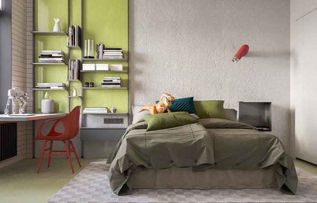 Căn hộ thiết kế tối giản, mộc mạc nhưng vẫn đẹp sang trọng ảnh 6