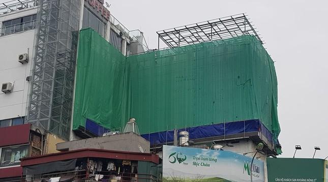 Trung tâm thương mại giữa Hà Nội làm 'chuồng cọp' khủng không phép ảnh 4