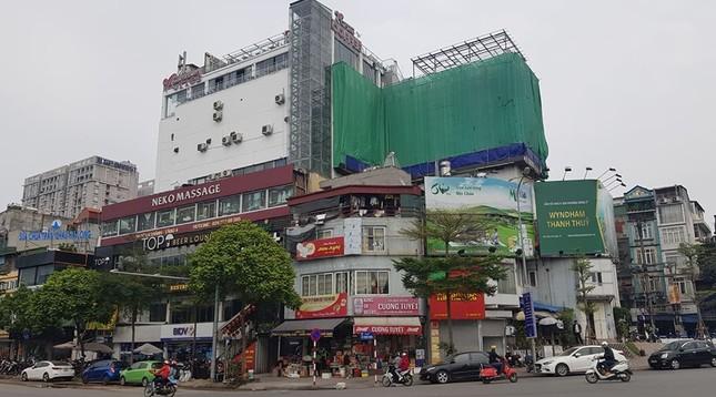 Trung tâm thương mại giữa Hà Nội làm 'chuồng cọp' khủng không phép ảnh 2