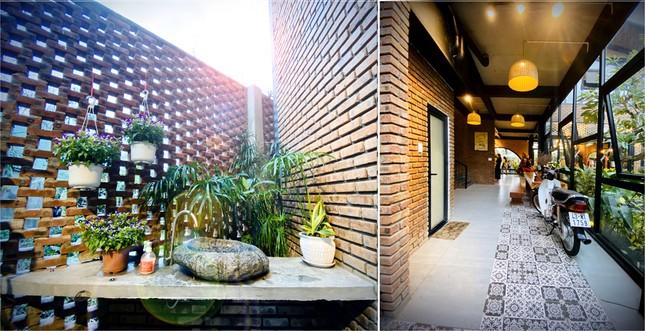Ngôi nhà kết hợp quán cafe đẹp lạ nhờ nghệ thuật xếp gạch gây mê ảnh 10