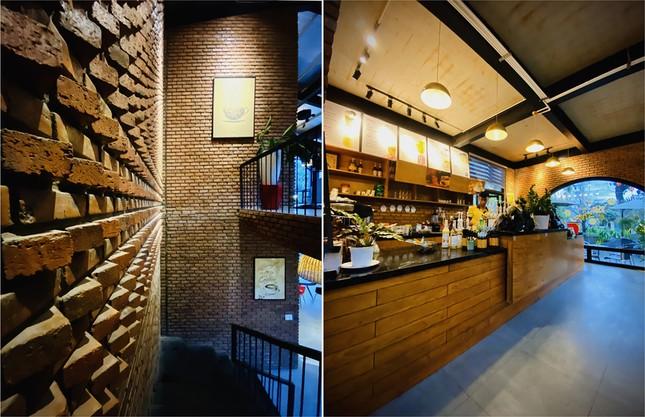 Ngôi nhà kết hợp quán cafe đẹp lạ nhờ nghệ thuật xếp gạch gây mê ảnh 5