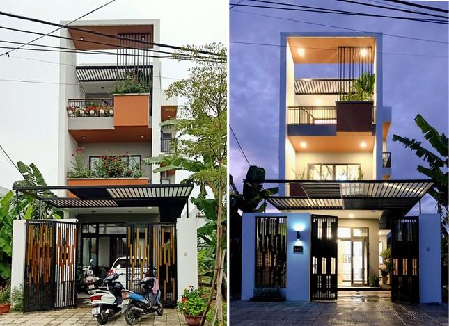 Nhà phố 3 tầng lấy gió và sáng có thiết kế ấn tượng ảnh 1