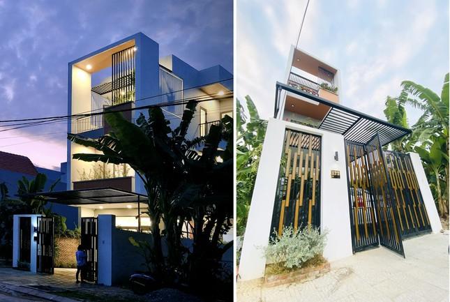 Nhà phố 3 tầng lấy gió và sáng có thiết kế ấn tượng ảnh 2