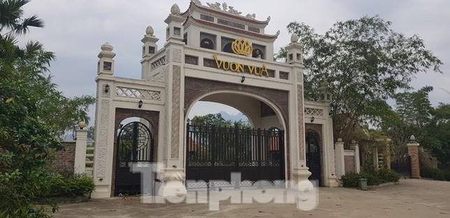 Giải tán 'chợ bất động sản' ở Thạch Thất, xử phạt dự án Vườn Vua nghìn tỷ ảnh 1