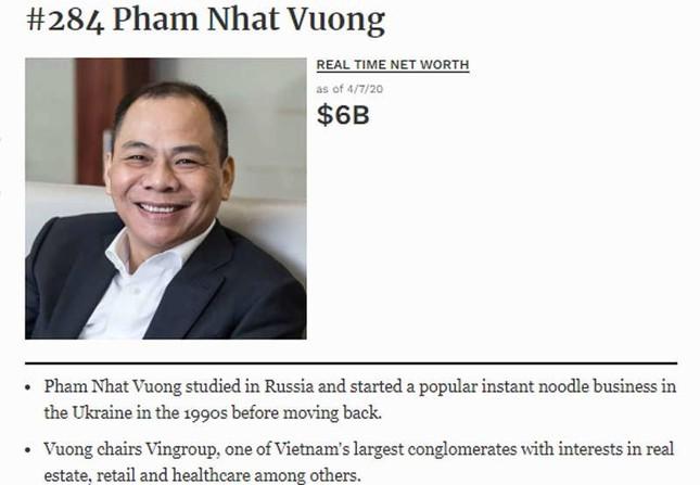 Tỷ phú Phạm Nhật Vượng lấy lại 3,7 tỷ USD, ông Hồ Hùng Anh hồi sức tỷ đô ảnh 1
