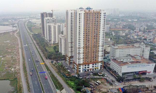 Cận cảnh khu chung cư bị đề nghị thanh tra vì làm 'mất' đường đi ở Hà Nội ảnh 9