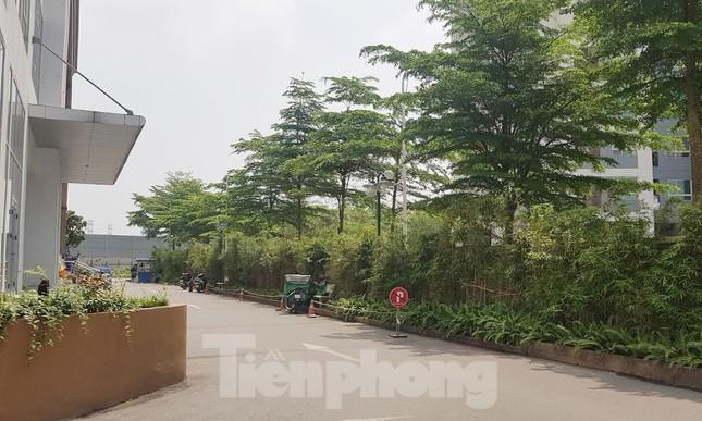 Cận cảnh khu chung cư bị đề nghị thanh tra vì làm 'mất' đường đi ở Hà Nội ảnh 4