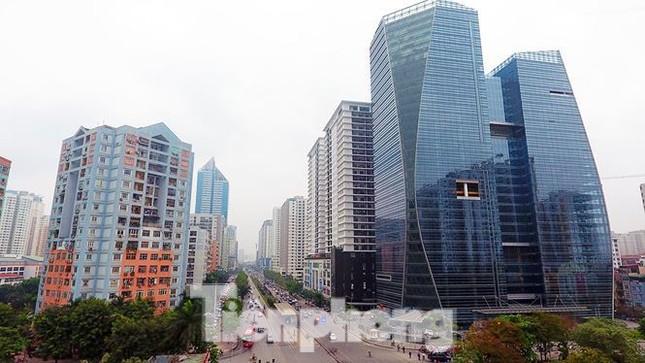 Cận cảnh khu đất công làm bãi xe 'biến hình' thành cao ốc ở Hà Nội ảnh 11