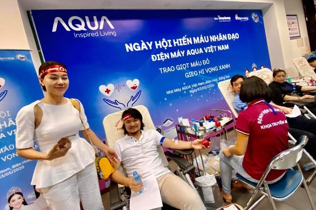 Những người đặc biệt tại ngày hội hiến máu ở Đồng Nai ảnh 13