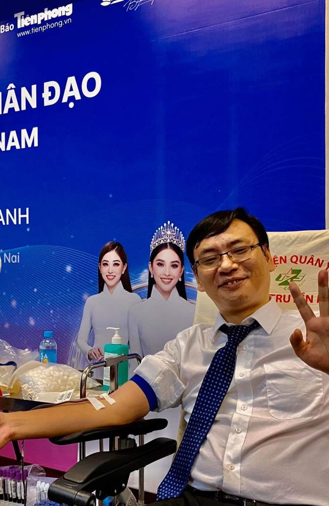 Những người đặc biệt tại ngày hội hiến máu ở Đồng Nai ảnh 19