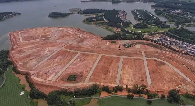 Vĩnh Phúc: Loạt doanh nghiệp san nền, đổ đất 'bức tử' hồ Đại Lải làm biệt thự ảnh 2