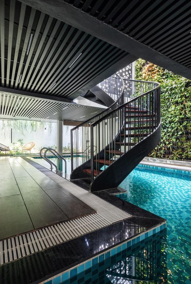 Mê mẩn ngôi nhà có bể bơi dưới tầng hầm tại Hà Nội ảnh 5