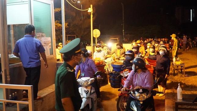 Ngư dân Đà Nẵng xếp hàng 'xuyên đêm' chờ lấy mẫu xét nghiệm ảnh 3