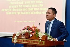 Bổ nhiệm ông Nguyễn Hồng Sâm làm quyền Tổng Giám đốc Cổng TTĐT Chính phủ ảnh 1