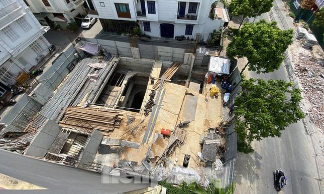 'Cấp tốc' kiểm tra công trình nhà riêng lẻ cấp đến 4 hầm ở Hà Nội ảnh 1
