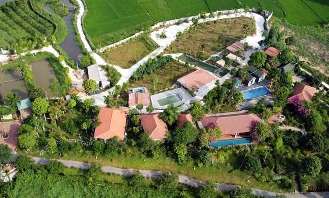 Xây 'chui' cả khu nghỉ dưỡng trên đất ruộng ở Vĩnh Phúc ảnh 1