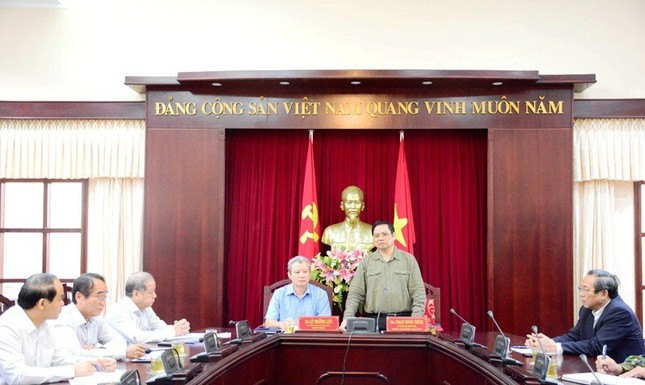 Đồng chí Phạm Minh Chính tới thăm và làm việc tại 3 tỉnh miền Trung ảnh 1
