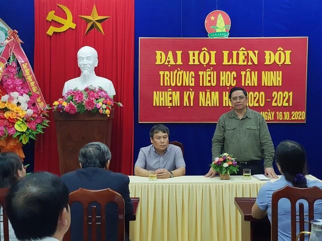 Đồng chí Phạm Minh Chính tới thăm và làm việc tại 3 tỉnh miền Trung ảnh 3