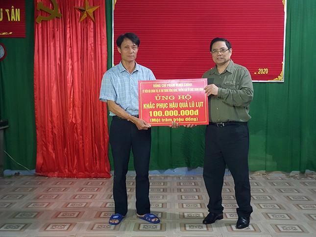 Đồng chí Phạm Minh Chính tới thăm và làm việc tại 3 tỉnh miền Trung ảnh 4