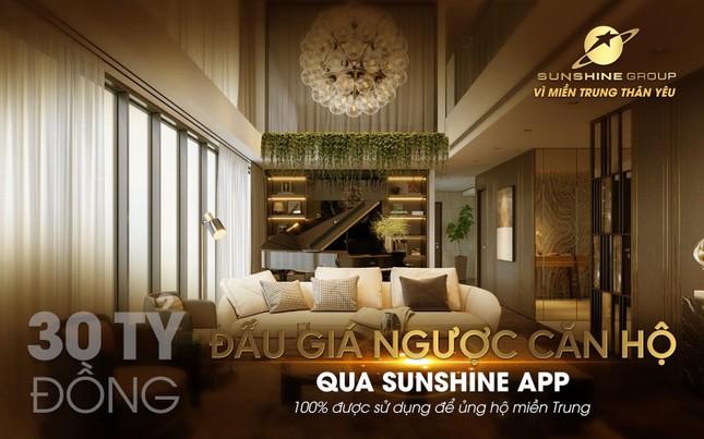 Đấu giá từ thiện qua Sunshine App-Sunshine Group ủng hộ 30 tỷ cho miền Trung ảnh 2