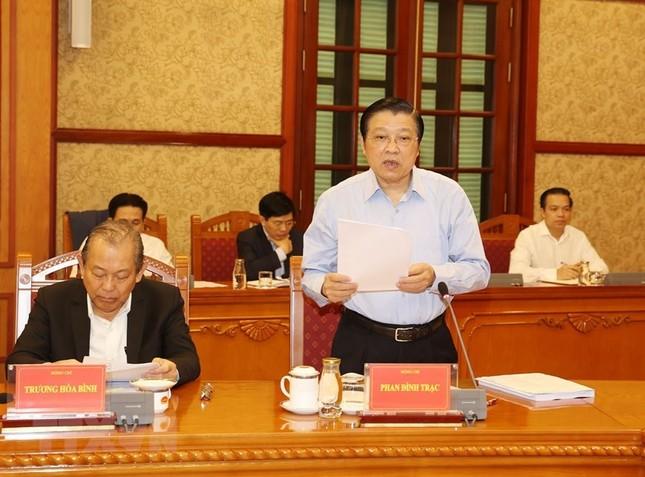 Tổng Bí thư, Chủ tịch nước chủ trì họp Ban Chỉ đạo về chống tham nhũng ảnh 4