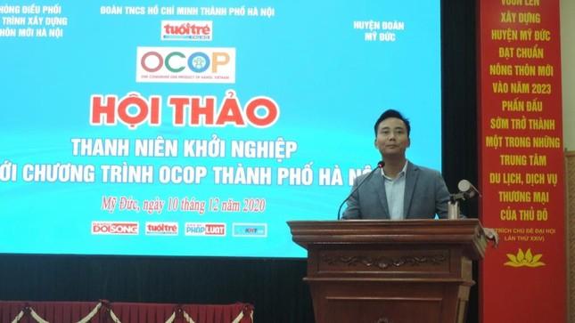 Chương trình OCOP – 'Lực đẩy' giúp thanh niên Thủ đô sẵn sàng khởi nghiệp ảnh 2