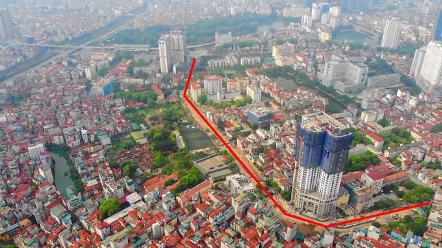 Hà Nội nới tiến độ đường Huỳnh Thúc Kháng kéo dài đến năm 2022 ảnh 2