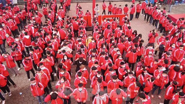 Sôi nổi diễu hành hưởng ứng ngày hội Chủ nhật Đỏ lần thứ XIII ảnh 5