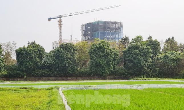 Cận cảnh công trình cao 9 tầng 'mọc' trên đất trồng cây ở Sơn Tây ảnh 6