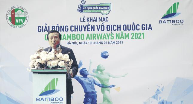 Chính thức khai mạc Giải Bóng chuyền Vô địch Quốc gia Cúp Bamboo Airways năm 2021 ảnh 2